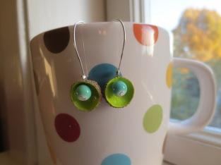 You don`t hang your earrings from your coffee mugs? Weird.