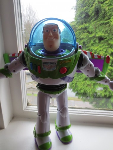 I blame this guy. I think he may have been jealous as he was left out of the lightbox photo shoot. Poor Buzz.