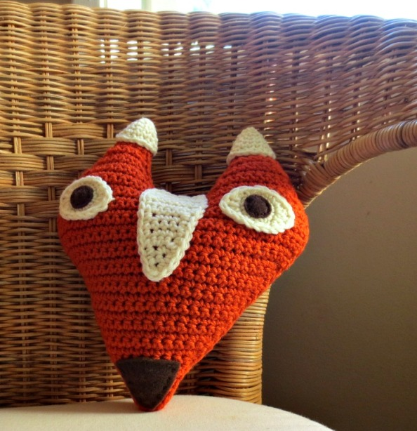 Freya the Fox Pillow