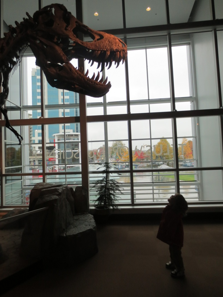 This is actually Thomas and a T-rex. I was talking metaphorically.
