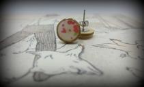 Wooden Studs - Tiny Hearts