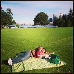 First Brockton Oval picnic of the season!